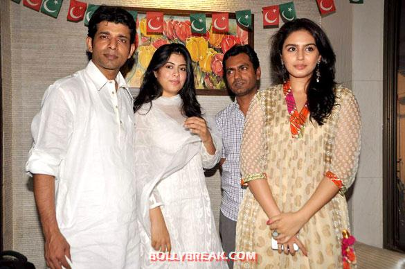 Vineet Singh, Anurita Jha, Nawazuddin Siddiqui, Huma Qureshi - Anurita Jha,Huma Qureshi,Richa Chadda at Iftaar party
