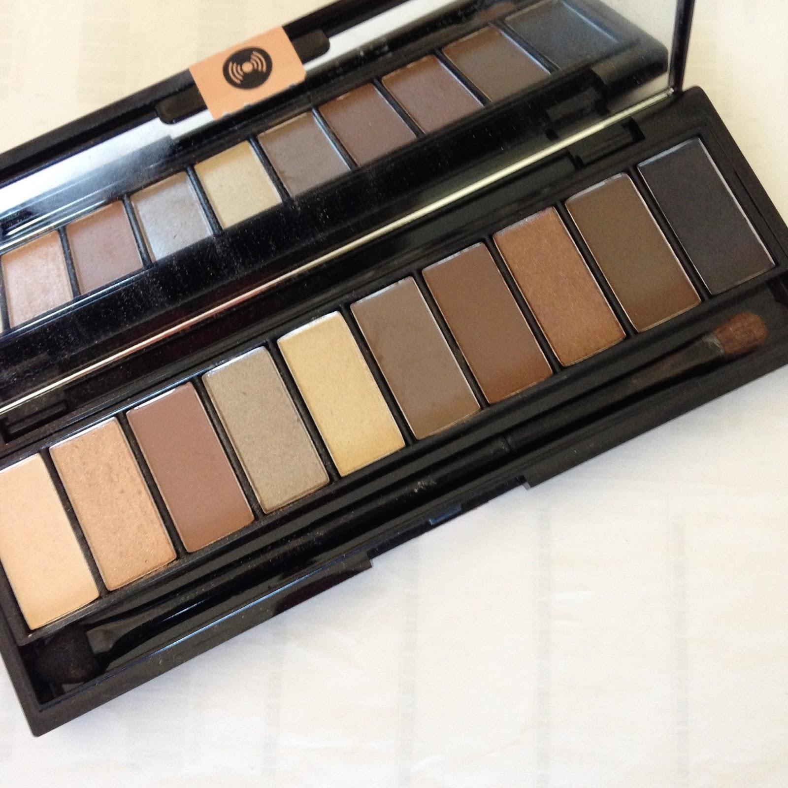 Review - L'Oreal La Palette Nude Beige Eyeshadow Palette