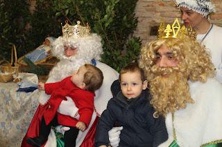 Reyes Magos en Mogarraz