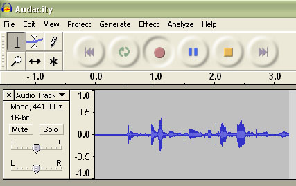 how to record what you hear with audacity