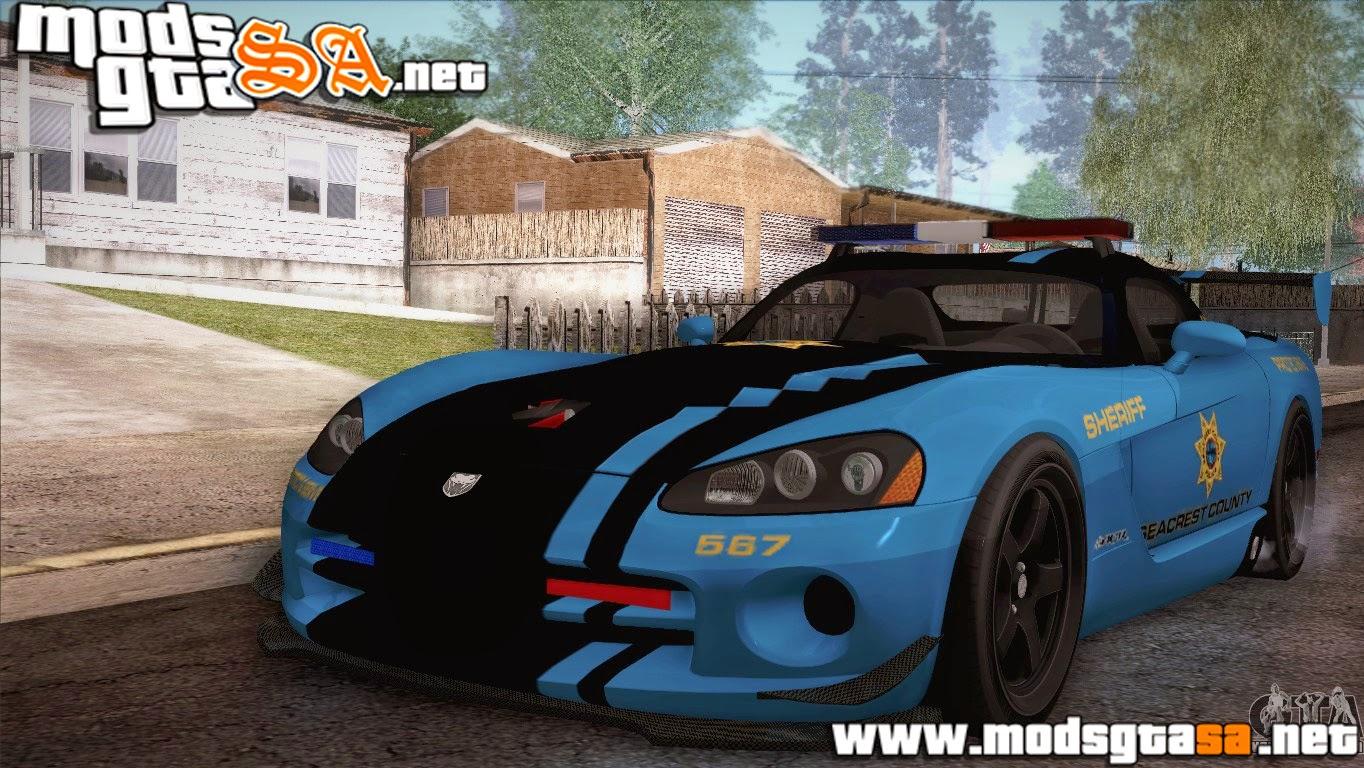 SA - Dodge Viper SRT 10 ACR Police