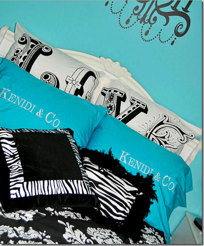 Turquoise Black And White Bedroom Ideas | Modern Architecture ...