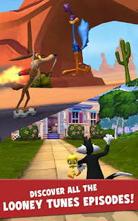 Game Looney Tunes Dash! v1.54.41 MOD APK Android