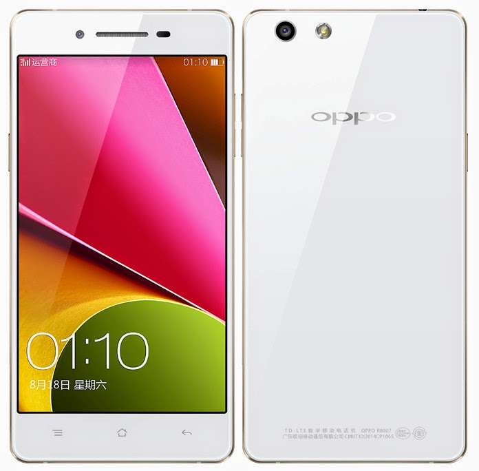 Oppo R1S Specifications And Price Officially Launched