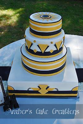 Cake Art Decor Nr 10 : Amber s Cake Creations: Art Deco!