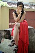 Meghasri glamorous photos in red-thumbnail-8