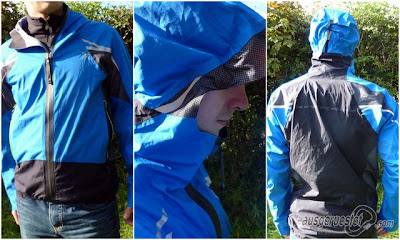 Air Jacket mit Active Shell