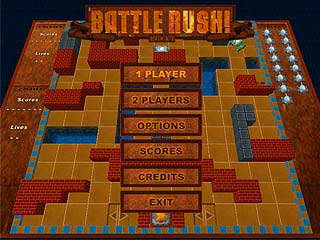 Game Battle Rush (Battle City)