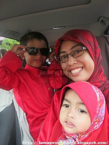 Syawal 1435H Perjumpaan Keluarga di Kuala Lipis