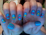 Fishies Under The Sea Nails. June 2012. Colors Used: