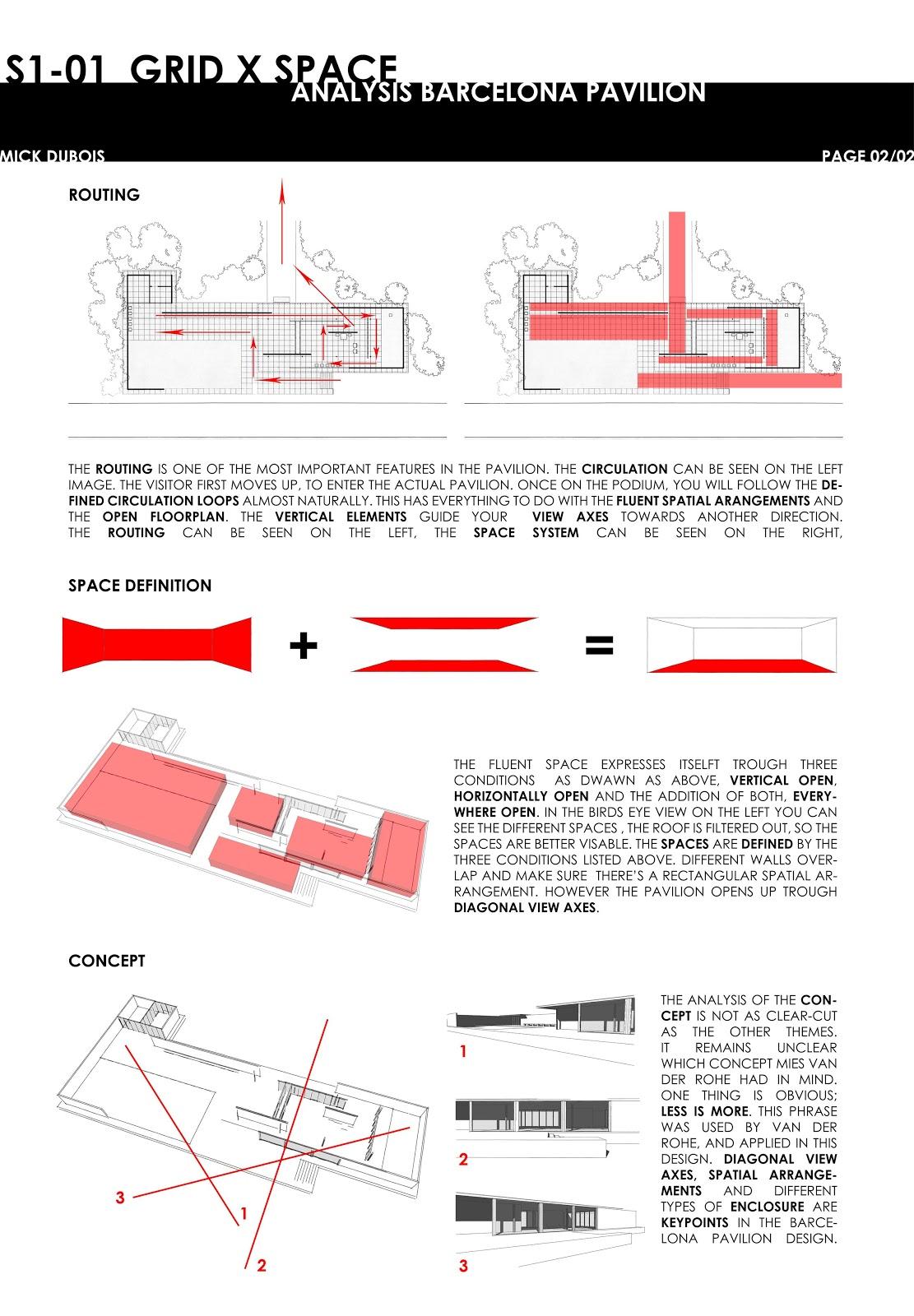 Architecture As Aesthetics  Barcelona Pavilion