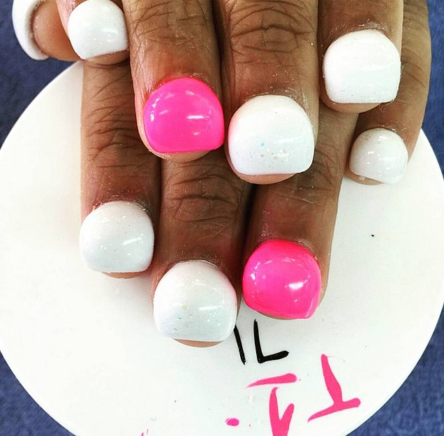 Well All Ye Nail Art LoversAm Dying To Meet Someone Who Has Tried The Trend Because I Have So Many Questions Super Long Fake Nails Are Already Difficult