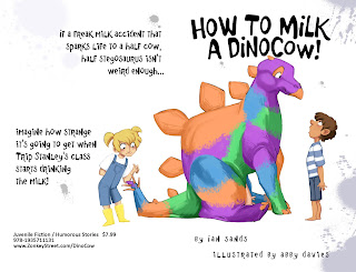 How to Milk a Dinocow- fun books for young readers