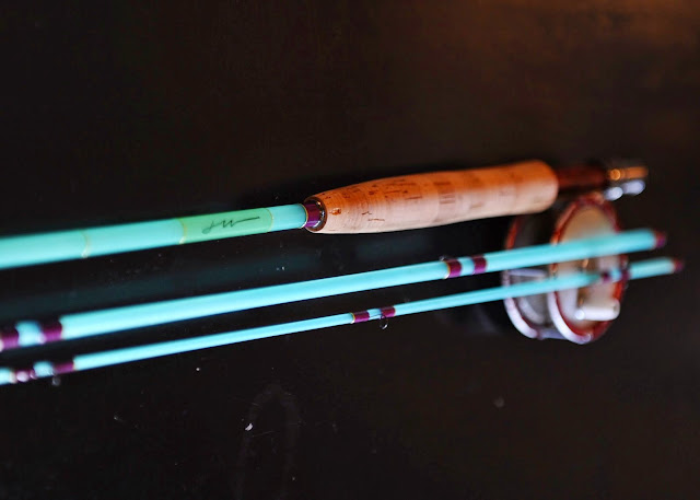 Current seams for Halo fishing rods