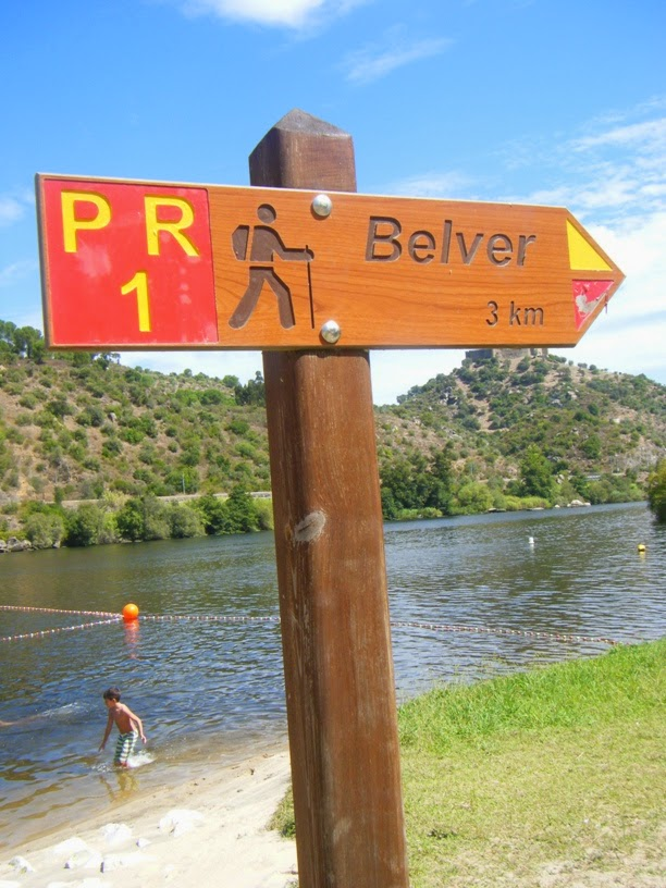 Percurso Rural para a Barragem Belver