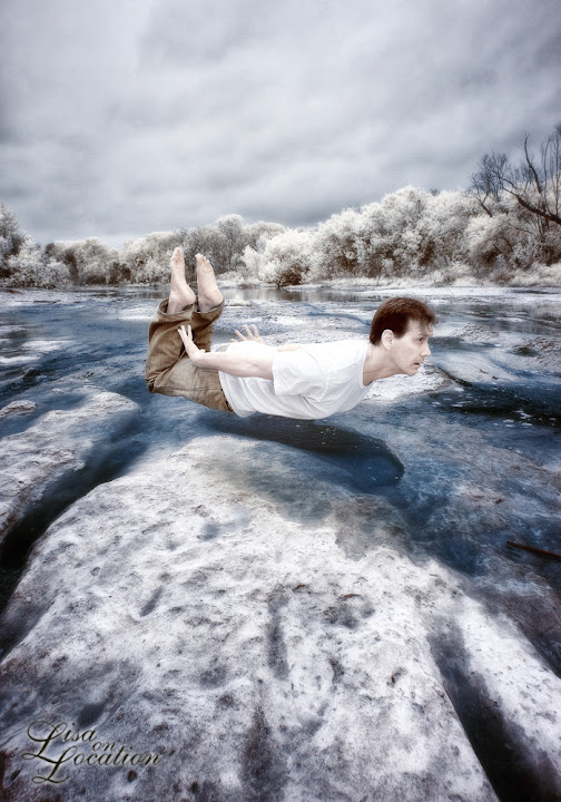 infrared, Canon 50D, levitation, spawning run, Lisa On Location Photography, New Braunfels, San Antonio, San Marcos, Austin