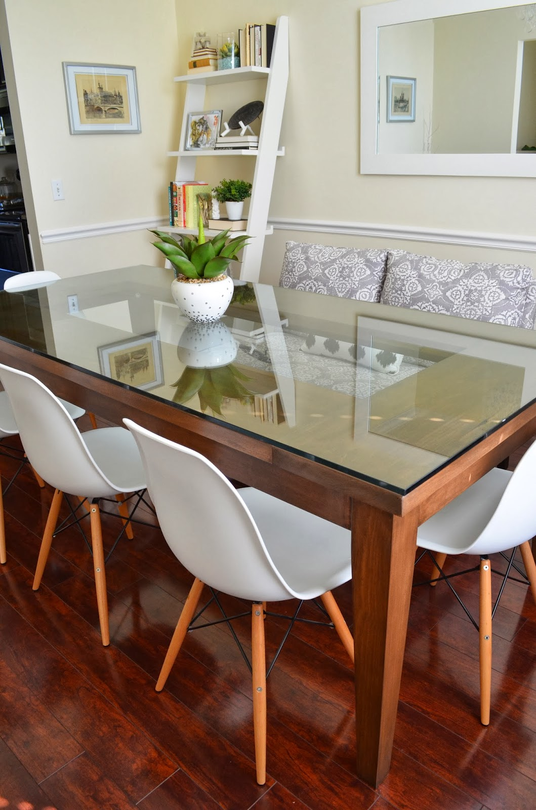 Inside Out Design Our Dining Room Table Is Finished