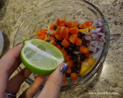 recipe papaya salsa
