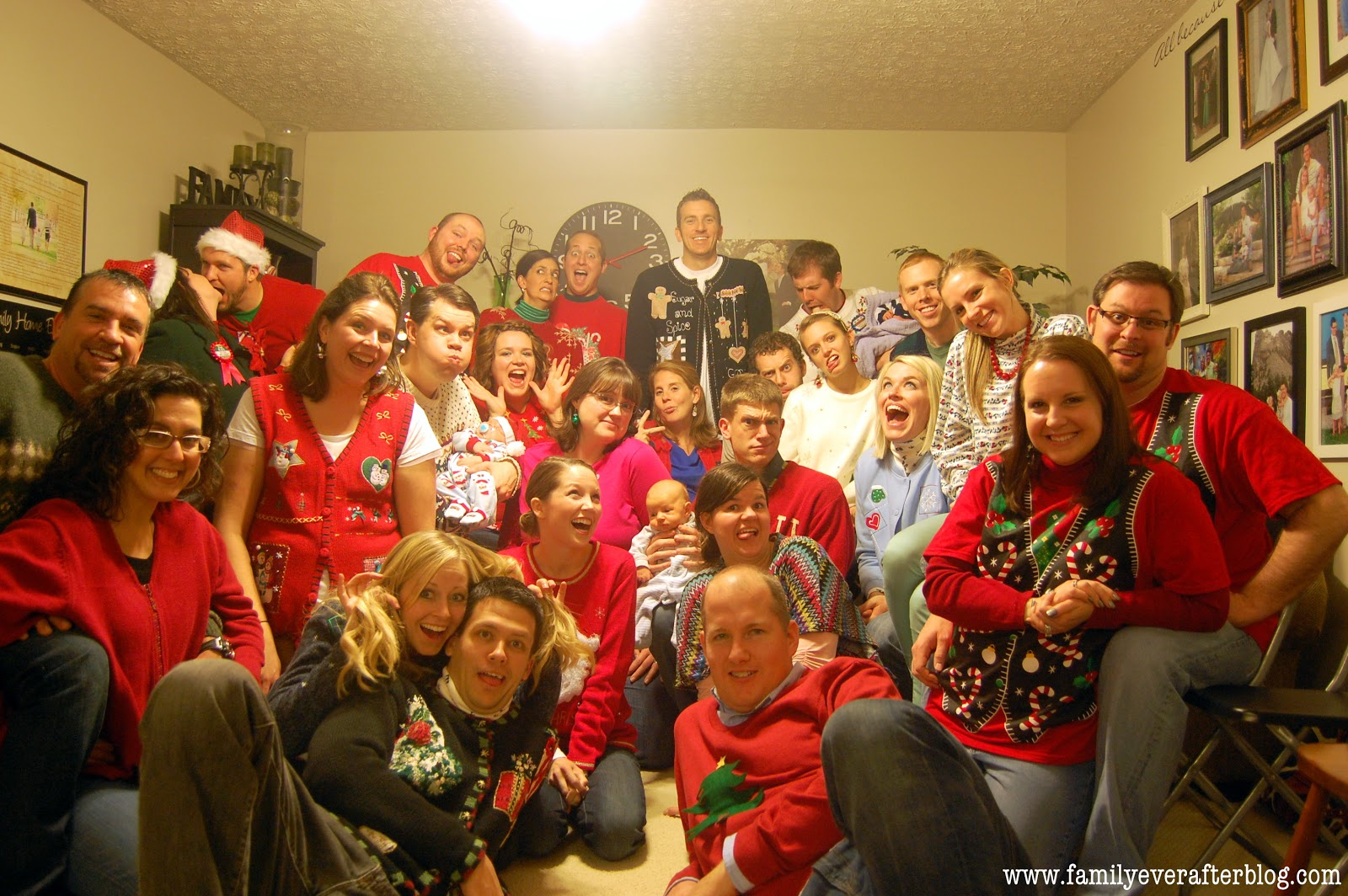 Family Ever After....: Ugly Christmas Sweater Party Recap: All the ...