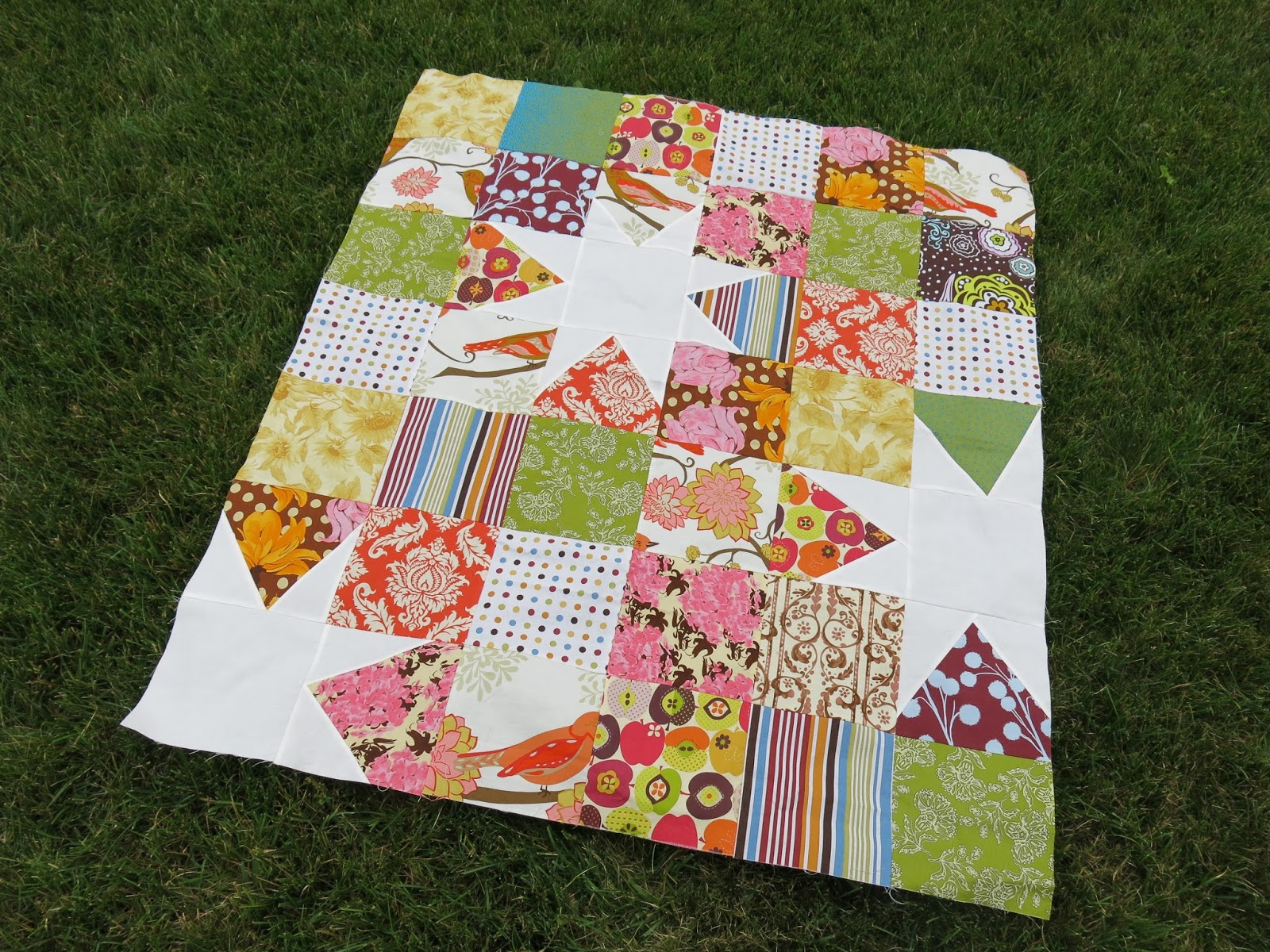 Miss Andrea Quilts A Few Quilt Top Finishes