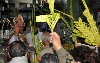 el domingo de Ramos es tradicional. nos recuerda la entrada triunfal de Jesús en Jerusálem