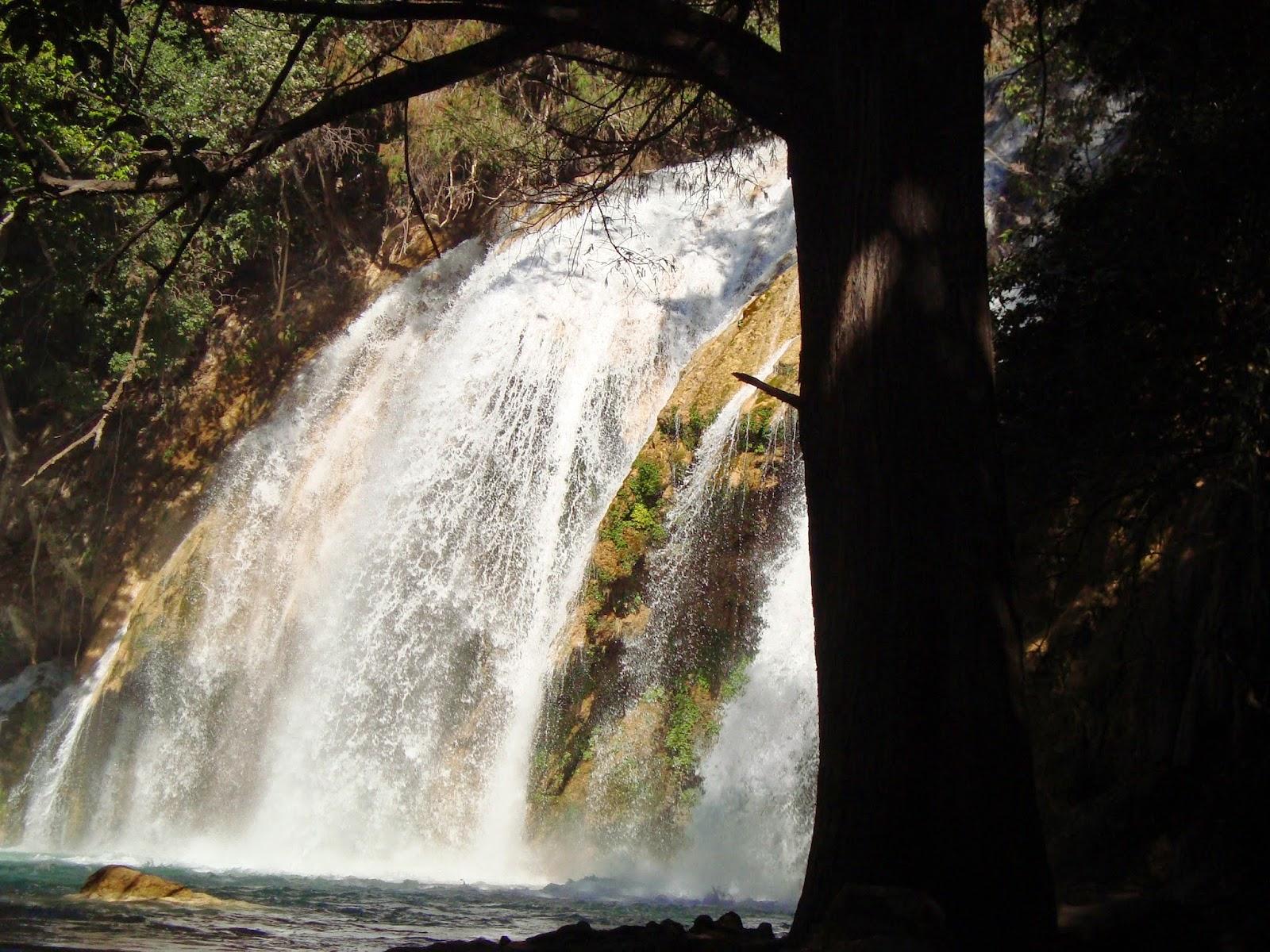 Chiapas: Cascadas del Chiflón parte Media