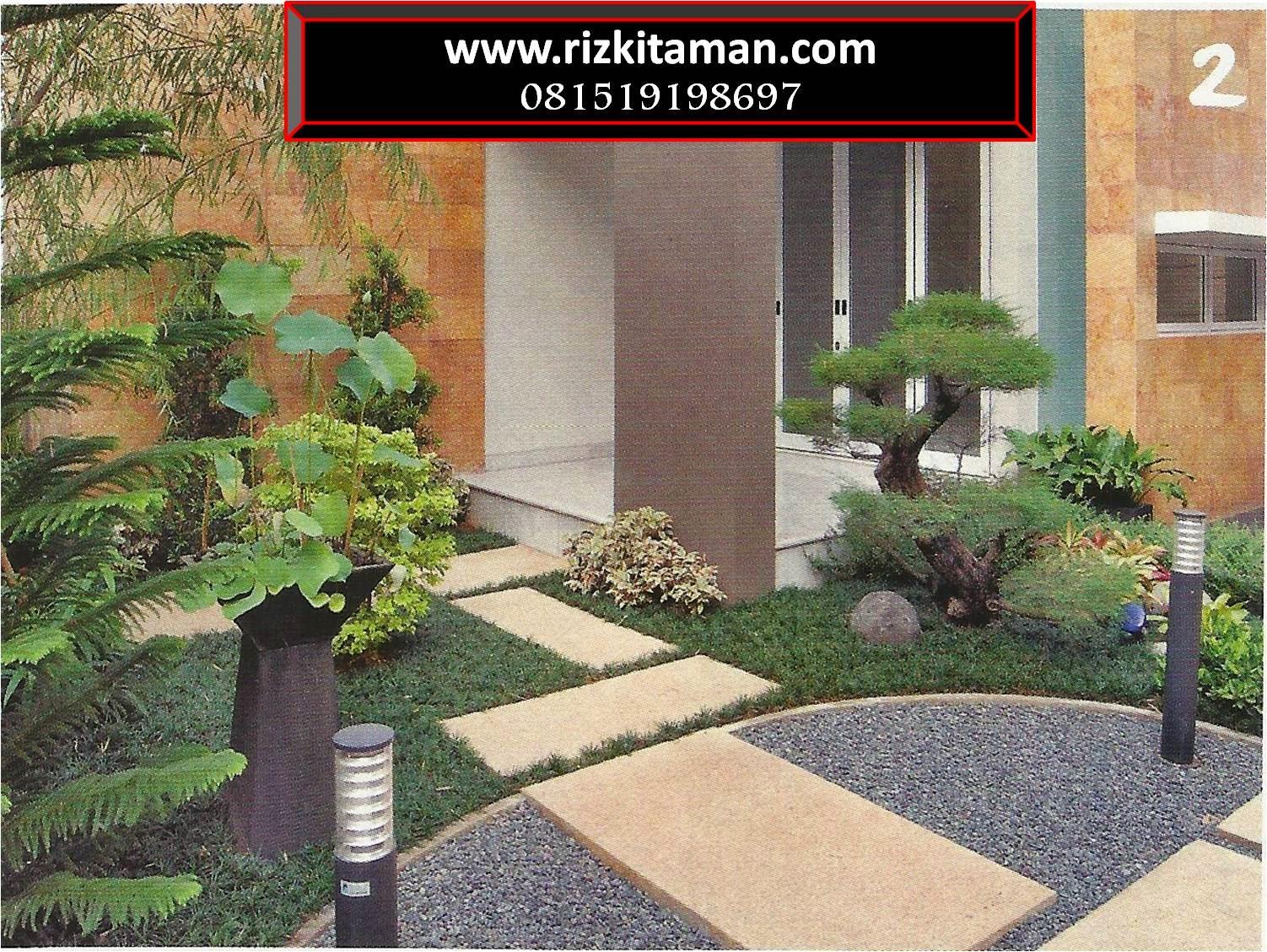 Tukang taman rumahan | jasa penanaman rumput dan pembuatan taman minimalis