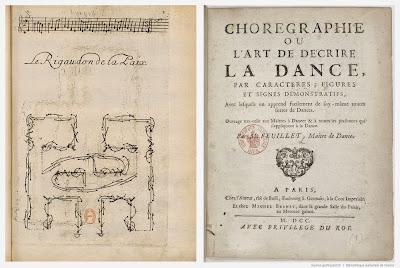 L'art de décrire la danse - Le rigaudon de la Paix