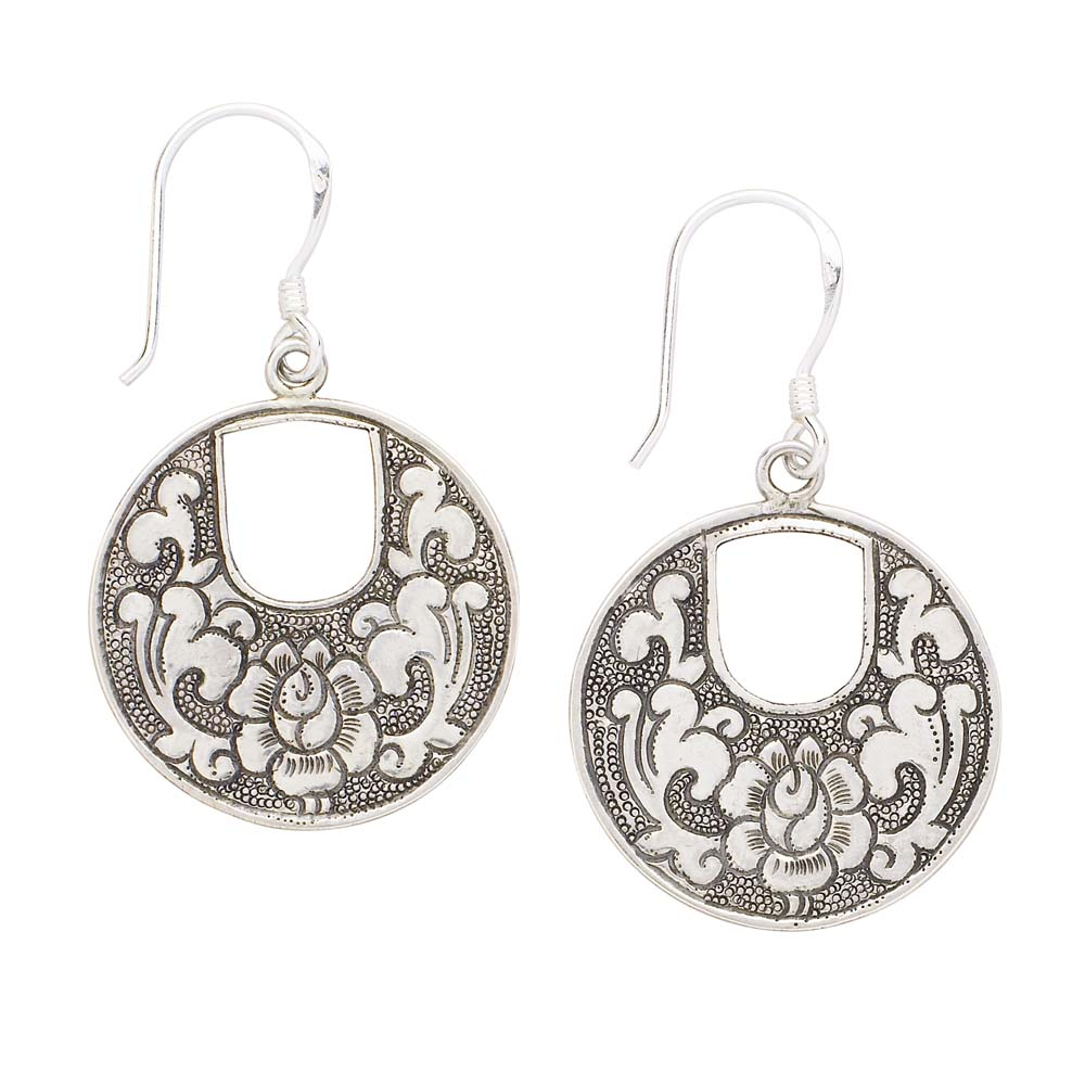 Indian Fashions & Styles: Earrings in Sterling Silver and ...