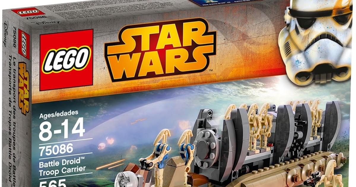 Dunia Lego: LEGO 75085 STAR WARS BATTLE DROID TROOP CARRIER