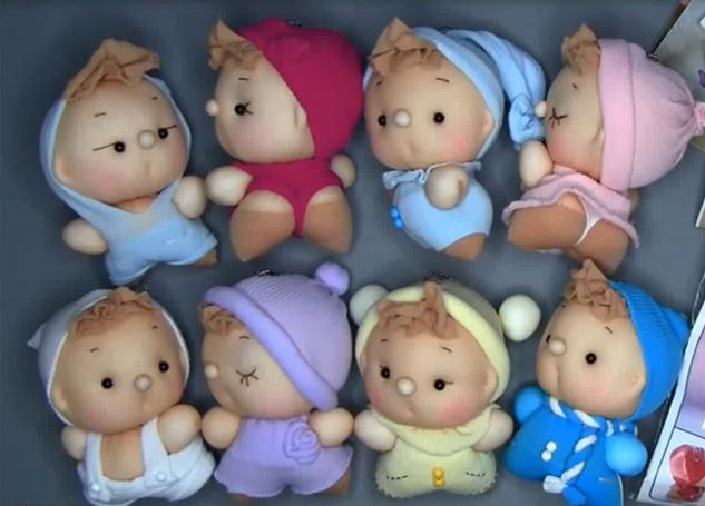 Куклы из чулков своими руками мастер класс
