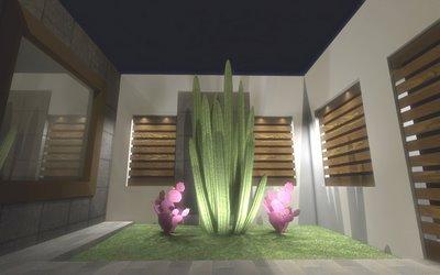 Decoraciones y modernidades jardines modernos para for Jardines interiores modernos