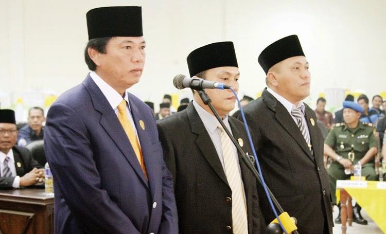 Pimpinan DPRD Tapsel Dilantik