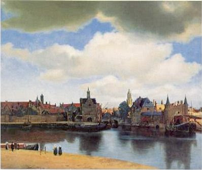 Johannes Vermeer: View of Delft