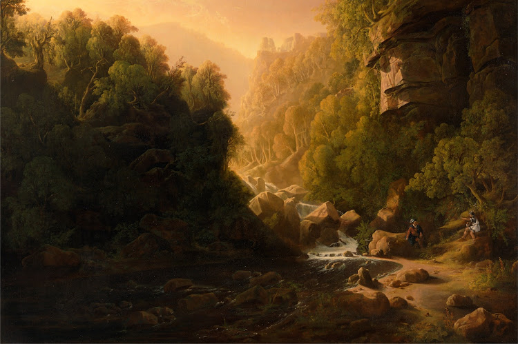 Francis Danby - The Mountain Torrent