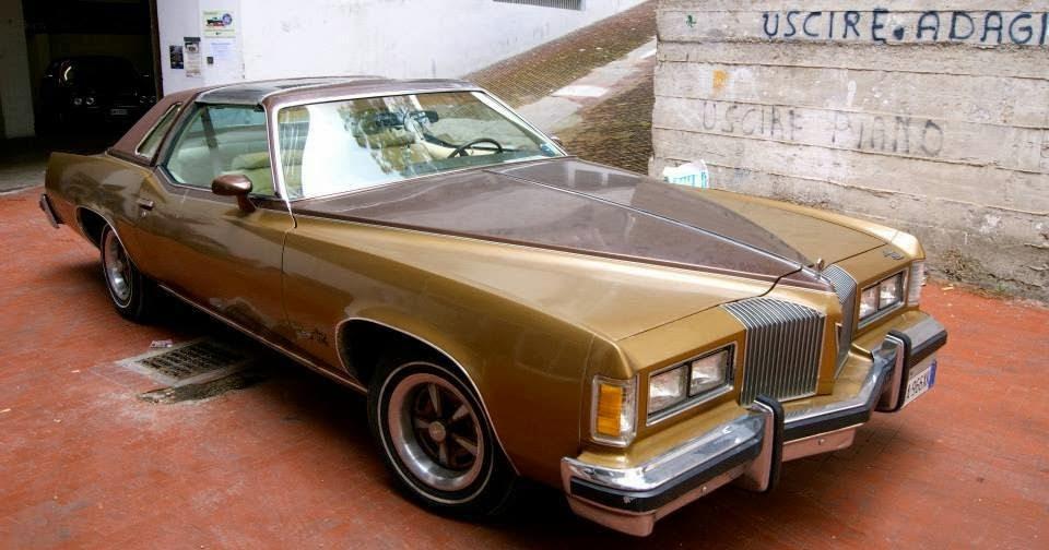 Cagliari auto epoca pontiac grand prix lj golden for Garage grand nord automobile nieppe