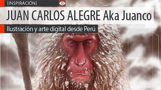 Ilustración y arte digital de JUAN CARLOS ALEGRE Aka Juanco.