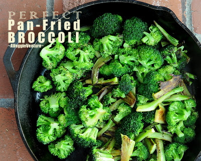 Perfect Pan-Fried Broccoli