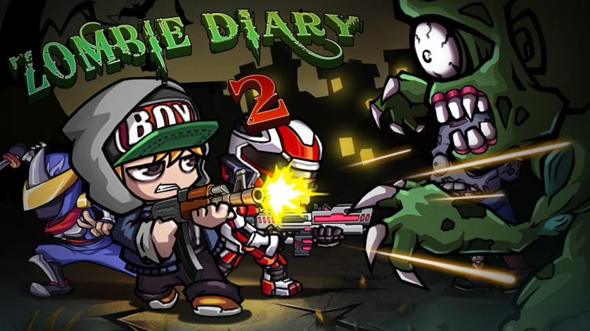 Zombie Diary 2: Evolution APK Mod (dinero ilimitado)