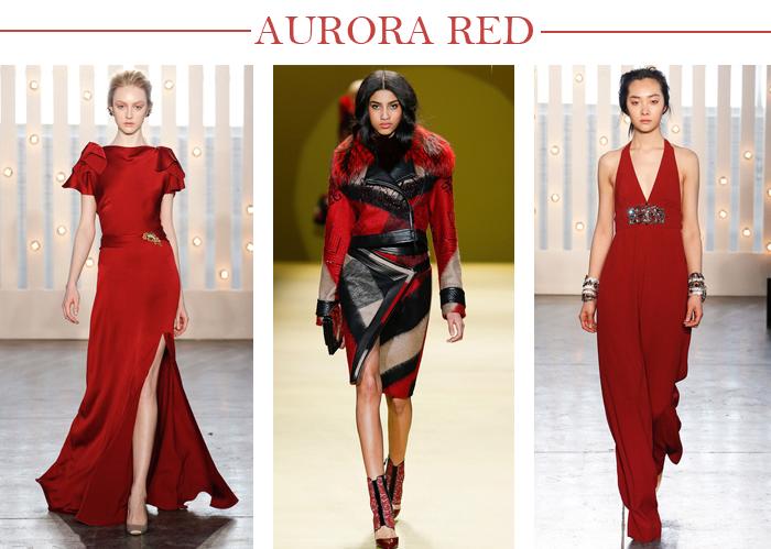 AURORA RED COLOR