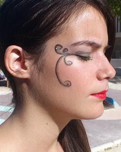 paso 3 maquillaje inspiracion envidia pecados capitales