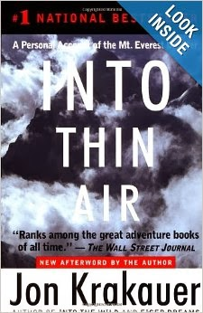 Into Thin Air, Jon Krakauer