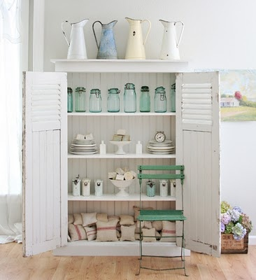 Shabby chic storage further ideas i heart shabby chic - Shabby chic storage ideas ...