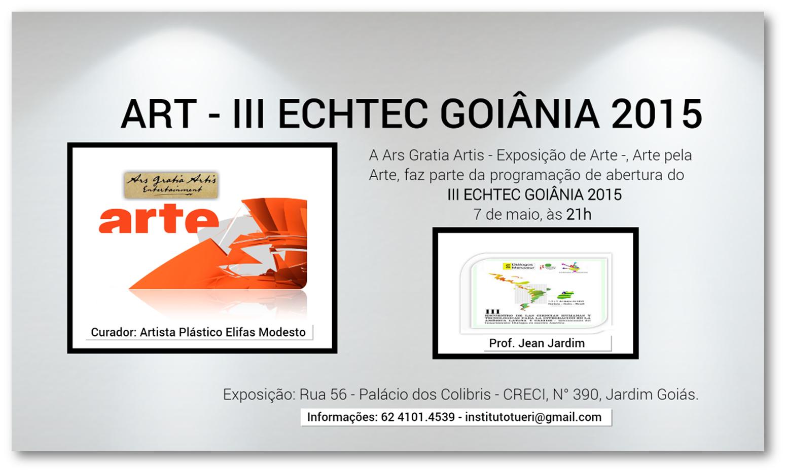 ART - III ECHTEC GOIÂNIA 2015