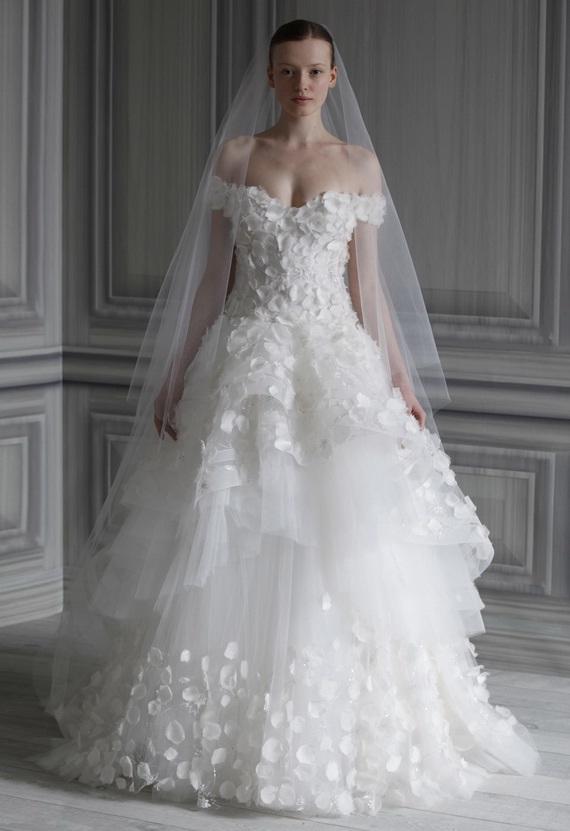 Bridesmaid dresses monique lhuillier wedding dresses for Wedding dresses for winter