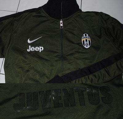 Jual Jaket Juventus Official UCL Green