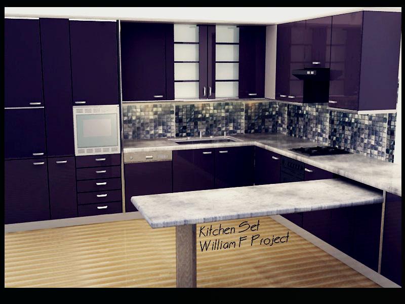 3ds max vray rendered portfolio portfolio for Kitchen set 3ds max