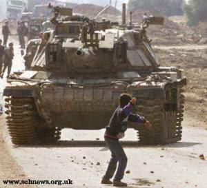 keberanian anak gaza