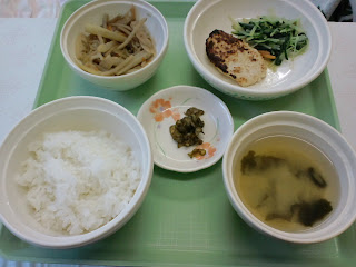 写真:パルス入院2日目の夕食