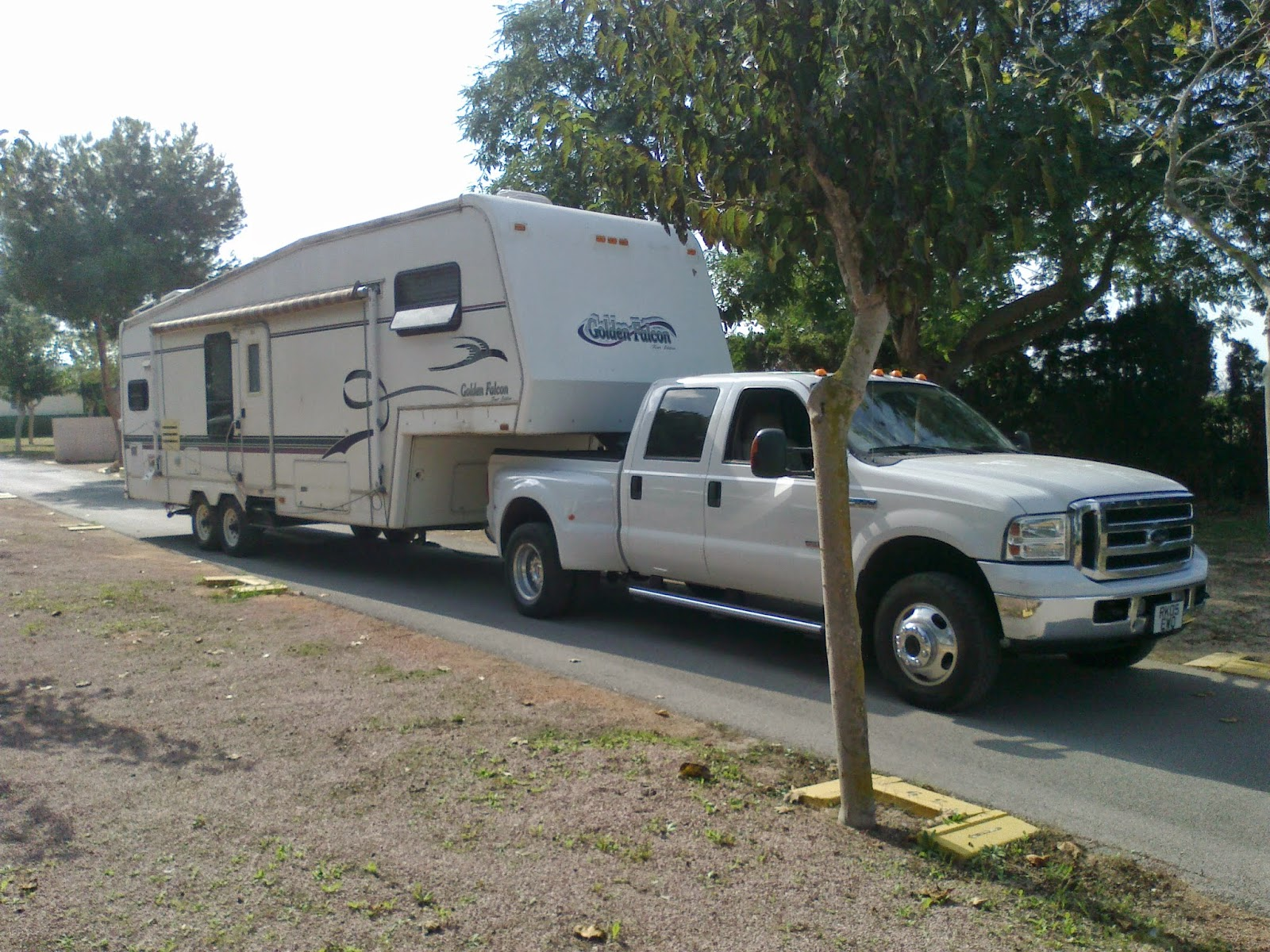 5th wheel and caravan storage, Costa Blanca, Spain
